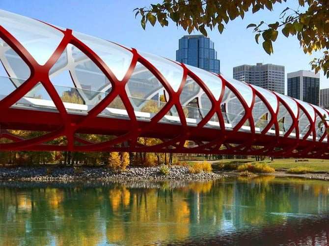 Peace Bridge Santiago Calatrava Canada