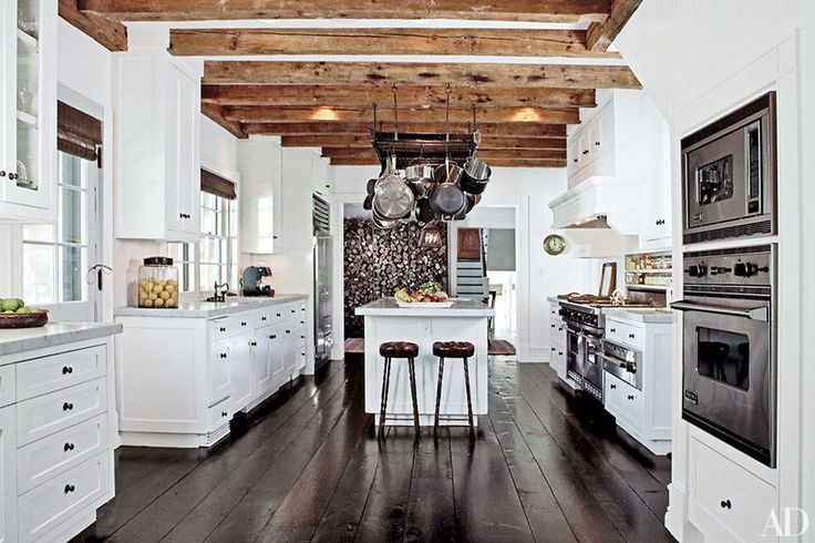 Wood beam ceiling ideas for and room