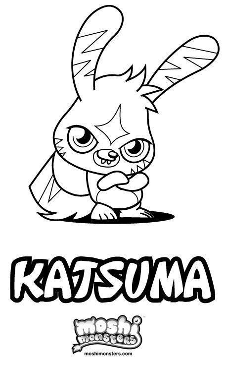 Katsuma colouring pic