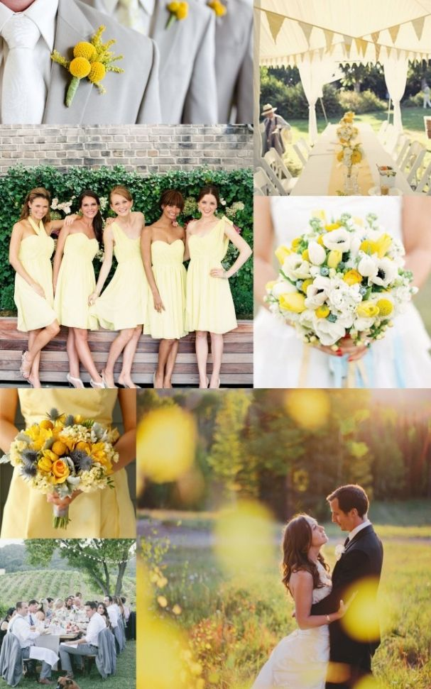 85 best yellow grey wedding images on Pinterest | Yellow gray ...
