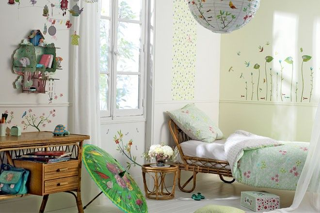 Alcuni utili consigli su come arredare e decorare la cameretta dei bambini.  #lartedelfare #decorazione #arredamento #camerettabambini #adesividaparete #popup #idearegalo #djeco