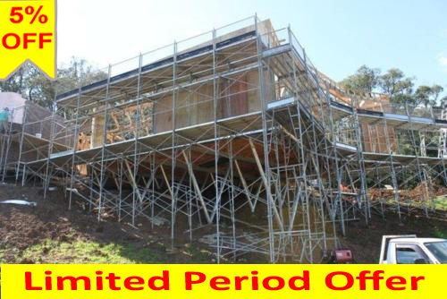 New Scaffolding 10.8m Long X 6.5m Access Height High Quality Aluminium Scaffold