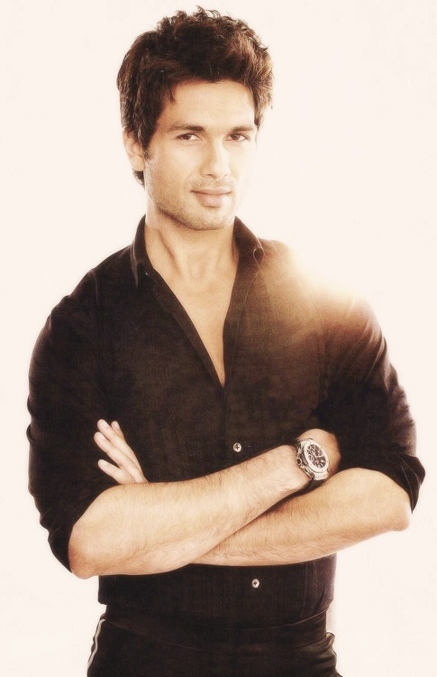 Shahid Kapoor. My favorite Bollywood star
