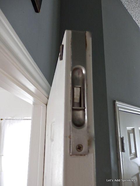 Bon Letu0027s Add Sprinkles: The Bathroom Door With No Lock | Latches | Pinterest |  Bathroom Doors And Doors