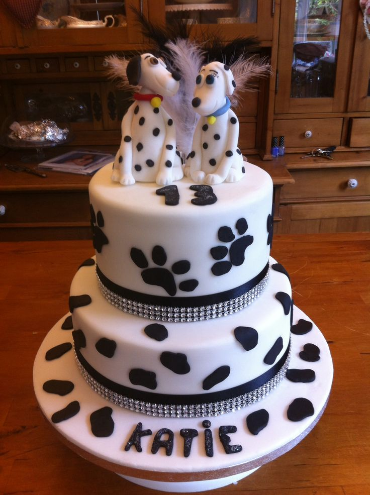 17 Best Images About Cakes 101 Dalmations On Pinterest
