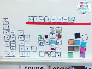 French sentence building station! Use the mini cards to help students create simple sentences in French! Great Daily 5 / 5 au quotidien centre for French Immersion students!