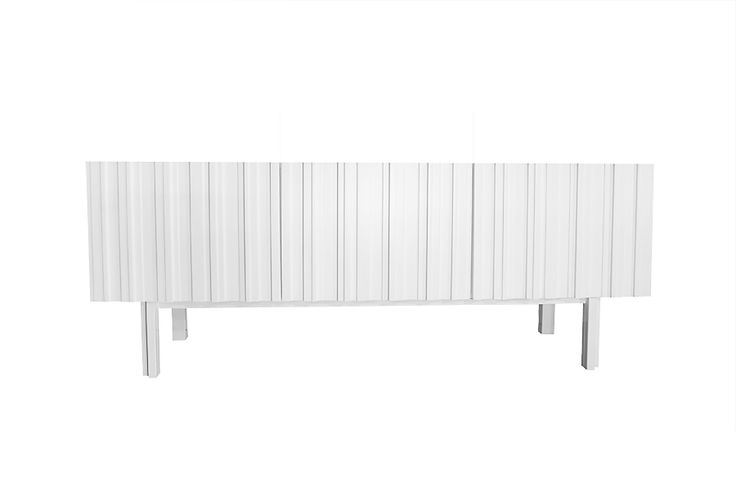 White modern sideboard design Björn Welander. @WELANDER DESIGN