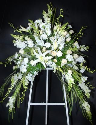 Funeral Home Flowers, Condolence Flowers, With Sympathy Flowers | The Flower Shop, Blaine MN