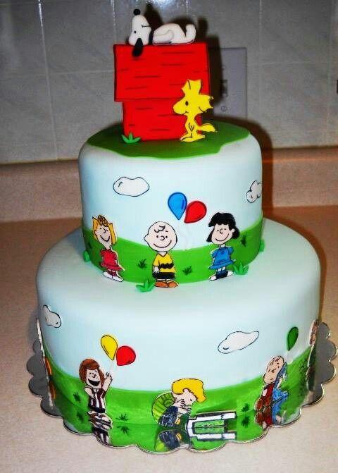 Peanuts Birthday Cake Walmart