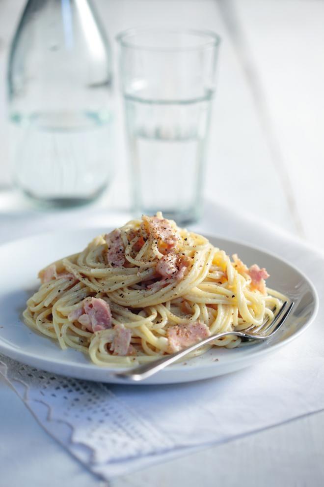 Αυθεντική+ιταλική+καρμπονάρα