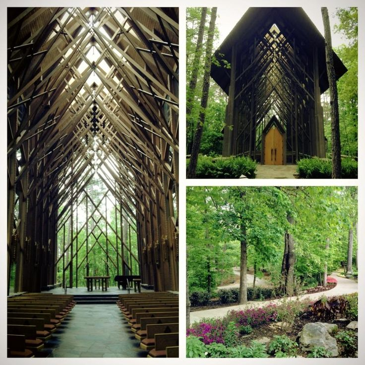 Thorncrown Chapel In Eureka Springs Arkansas