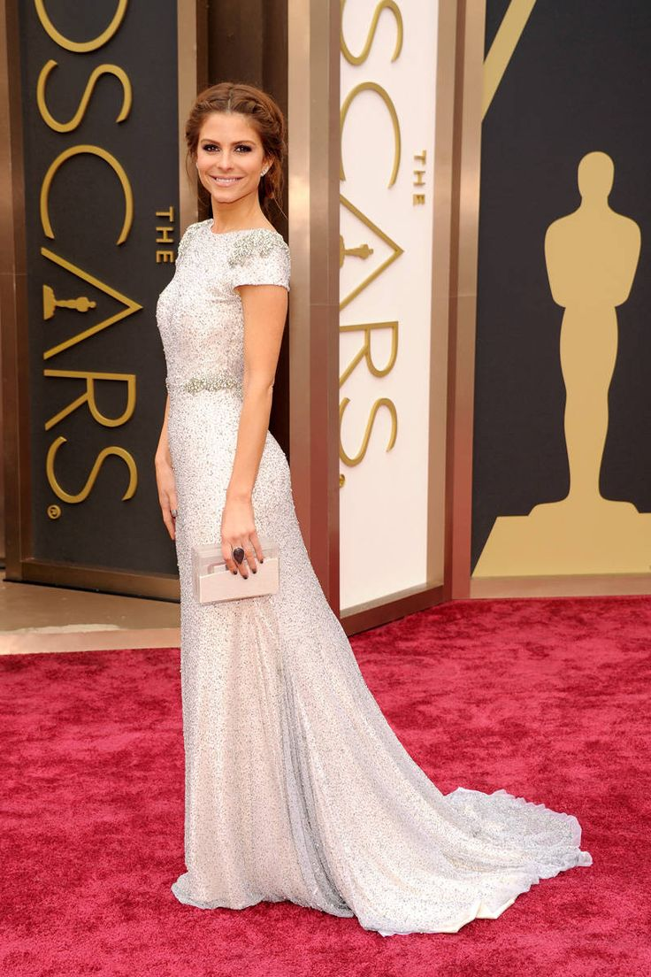 Maria Menounos in ? Oscar Dresses 2014 Style - Academy Awards 2014 Red Carpet Fashion - ELLE