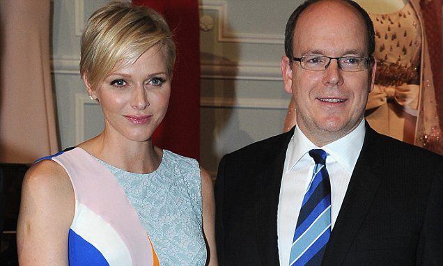10/7/14    Princess Charlene and Prince Albert of Monaco expecting TWINS!!!!
