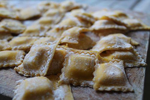 tortelli handmade pasta foglia fresca e ripieno di formaggi