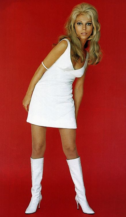 Born June 8th 1940 ~ Nancy Sinatra, 1966 (These Boots Were Made For Walkin' ) is an Italian American singer and actress.