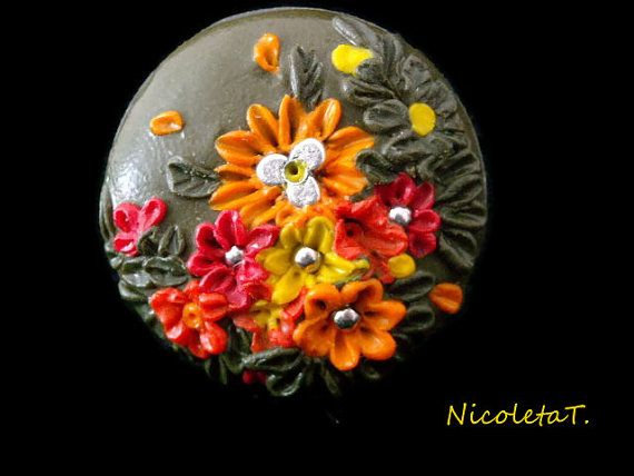 Nature on finger by NicoletaT on Etsy, €14.50