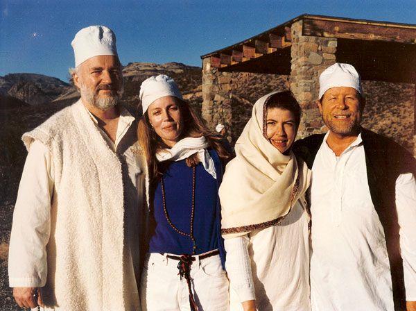 Shaykh Nur (Lex Hixon), Shaykha Fariha, Shaykha Amina, and Shaykh Haydar of the Nur Ashki Jerrahi Sufi Order.