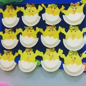 paper-plate-hatching-chick-craft