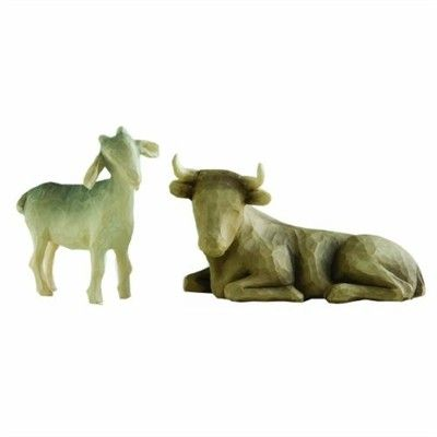Willow Tree - Nativity Collection - Ox and Goat $34 - Australian store. International shipping available