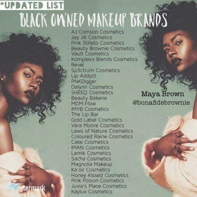 Black Owned Makeup Brands                                                                                                                                                                                 More