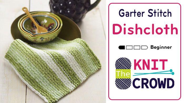 Show Garter Stitch Knitting : 28 best images about KNITTING on Pinterest Dishcloth knitting patterns, Gar...