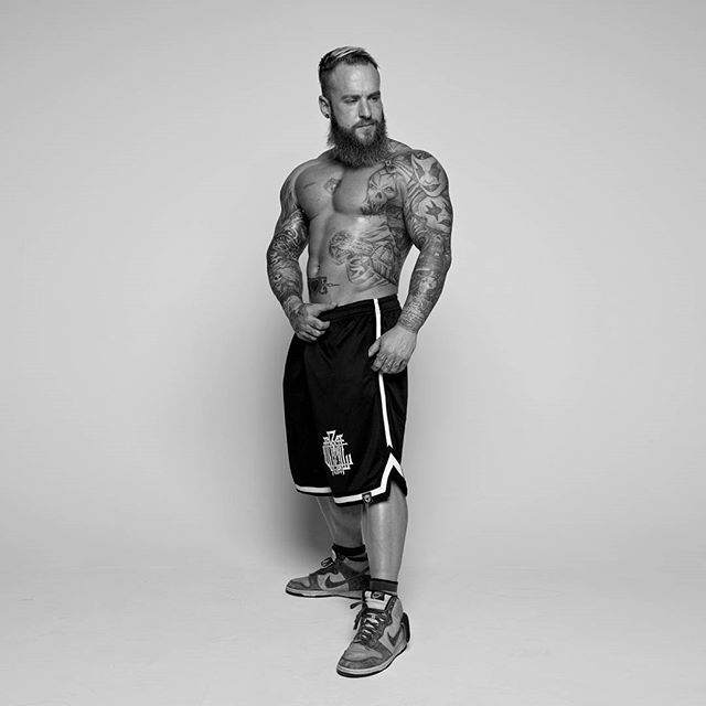 """Monogram"" Striped Mesh Shorts Available at www.crmc-clothing.co.uk | WE SHIP WORLDWIDE Model - Loco Mike Mason               Photography by Darren Rowley Photography #muscle #shredded #ripped #hulk #bodybuilder #bodybuilding #wrestler #wrestling #dark #alternativeboy #fashionblog #fashion #locomikemason #workout #skatewear #urbanwear #Mikemason #gains #fashionaddict #basketballshorts #basketball #want #occult #beardedgents #beard #beardedmen #menwithbeards #love"