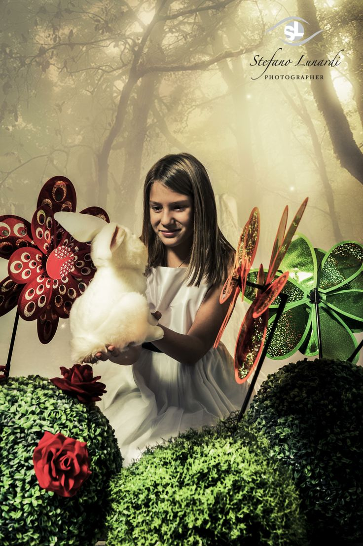 Sofia as Alice in wonderland