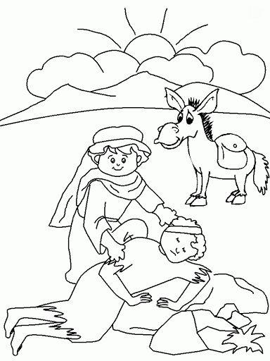 Wunderbar Gute Samariter Malvorlagen Zeitgenössisch ...