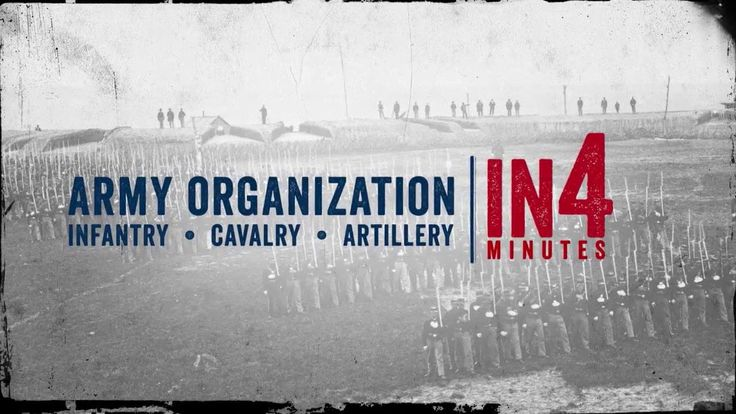creative ideas for school pictures - The Civil War in Four Minutes Army Organization