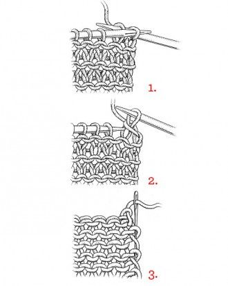 How To Cast Off Stitches In Knitting : 17 Best images about knit and crochet on Pinterest Knit stitches, Basic cro...