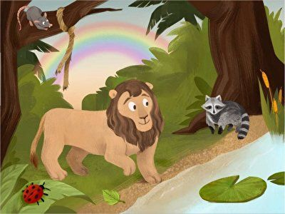 The Lion and the Rat Comprehension