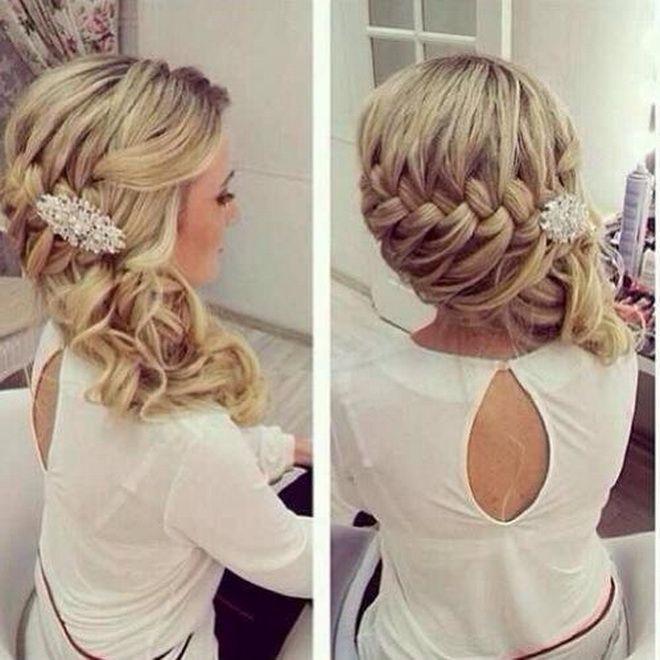 15 Pretty Braided Wedding Hairstyles