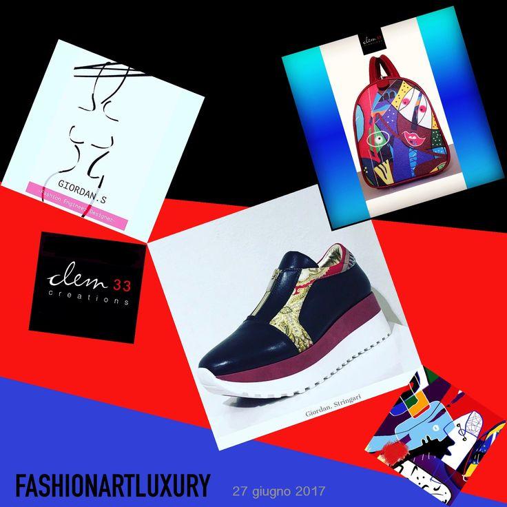 #giordanstringari #carlobusetti #loredanatrestin #milano #live #fashionart #moda #fashionartluxury #lartealtuofianco #vestitidarte #scarpe