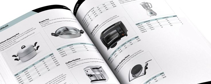 InDesign Catalog Template - Free and editable template