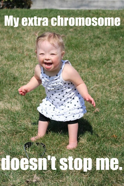 Tomorrow 3.21 is World Down Syndrome Day!  Celebrate that extra chromosome!