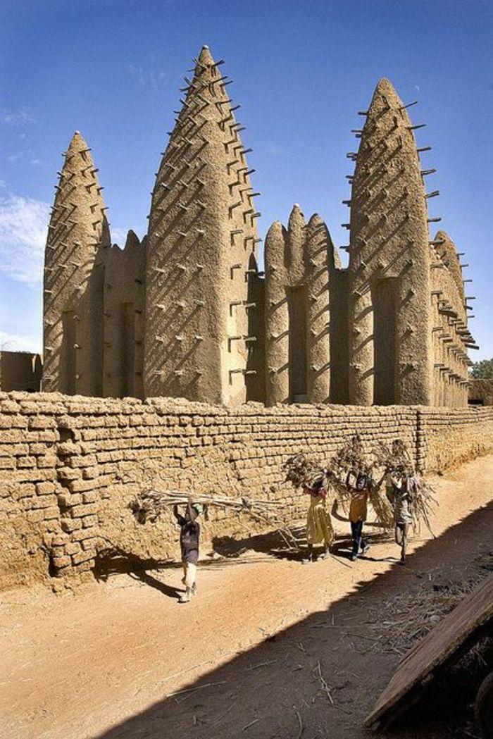 architecture traditionnelle d'Afrique