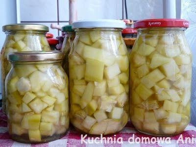 Kuchnia domowa Ani: Cukinia waniliowa