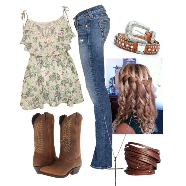 """""""Date night! #countrycouple"""" by justagirlfromthesouth on Polyvore"""