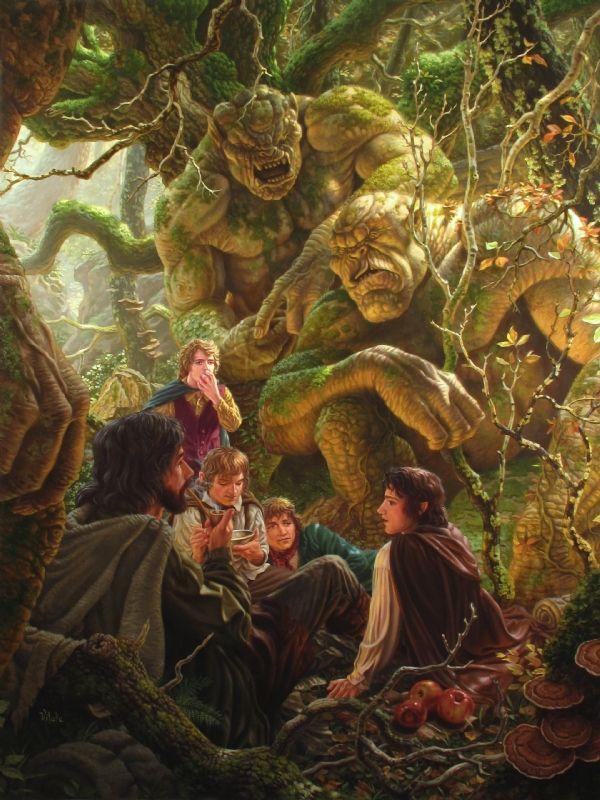 Картинки к сказкам толкина