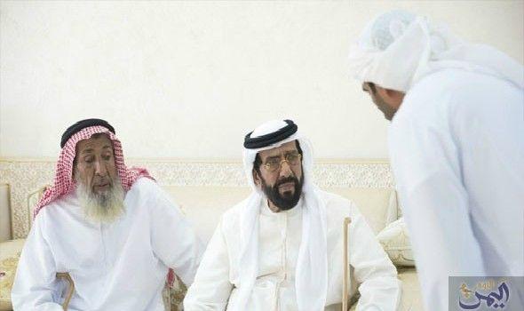 طحنون بن محمد يعز ي في وفاة سلطان مطر المنصوري Captain Hat Captain Person