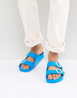 eed948f0825 Birkenstock Arizona Eva Scuba Blue Sandals   orange vs blue ...