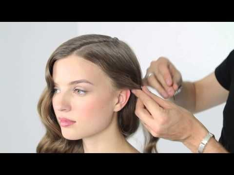 How to Make Veronica Lake Waves - YouTube #easyhairstyle #summer