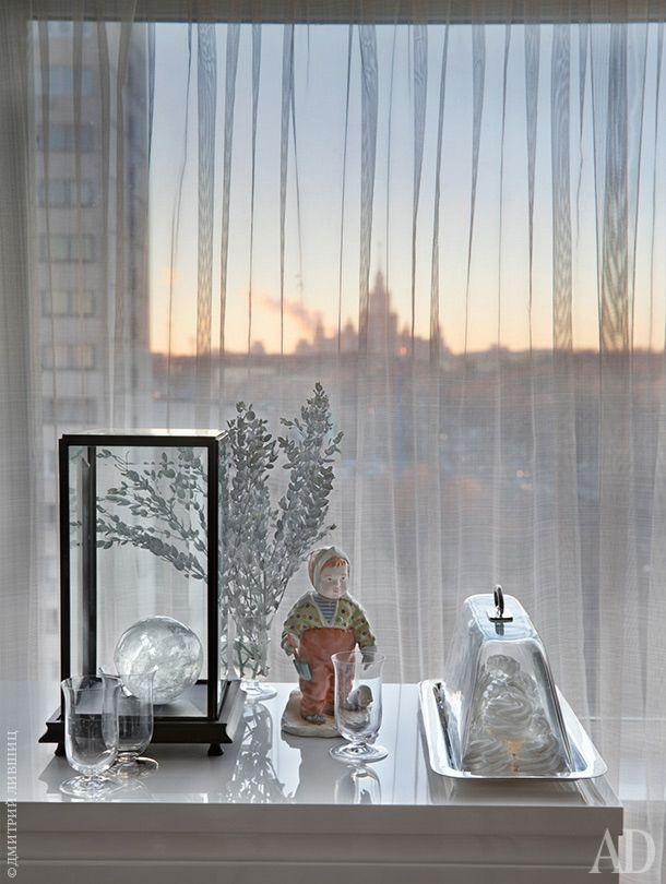 Интерьер однокомнатной квартиры в Москве с открытой планировкой   Admagazine   AD Magazine