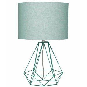 Mint Empire Table Lamp