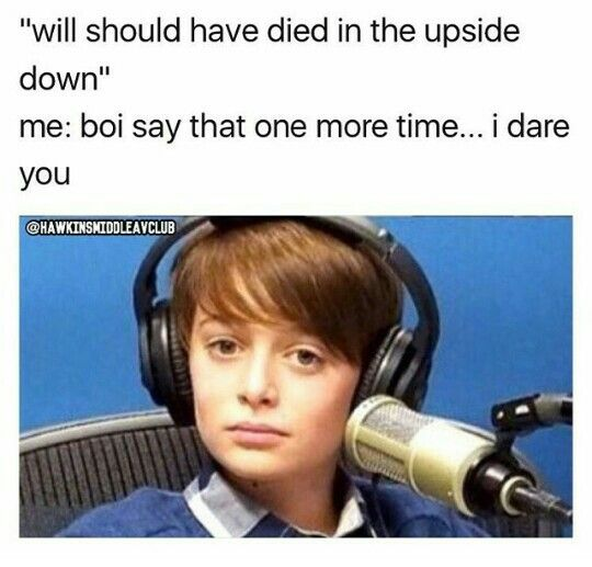I don't want him dead. Duh I want him ok and if he's not will anymore then I'll push him out of the way from my babies. But I'll have to be very sure before I do that because I love will.