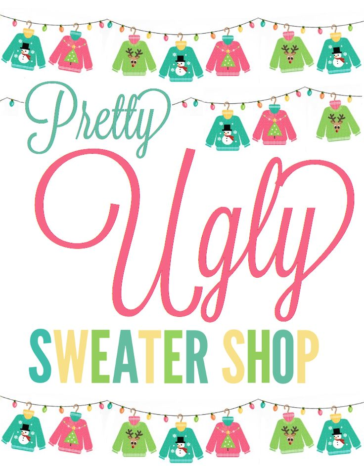 ugly christmas sweaters for sale - cheap - all $25 or less!