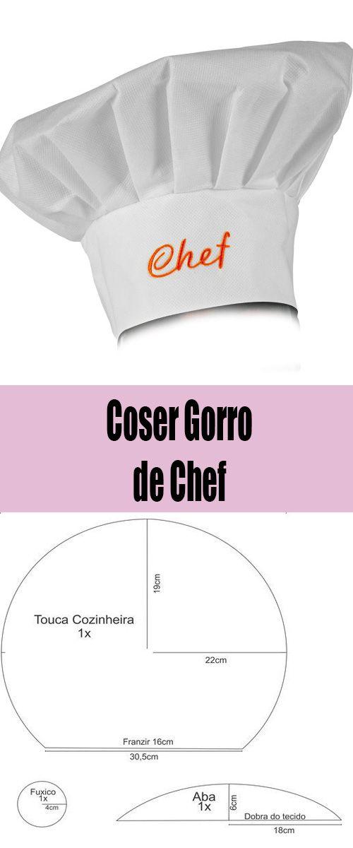 Coser Gorro de Chef