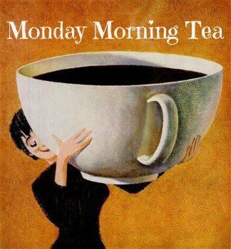 Monday morning tea.. This was totally me this morning. Boston Blend from Harney & Sons!