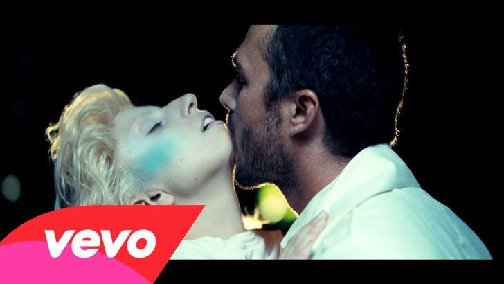 Pin for Later: 26 Celebrity Couples Who Flaunted Their Love in Music Videos Lady Gaga and Taylor Kinney