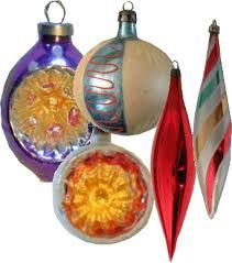 Image result for 1950s christmas decorations